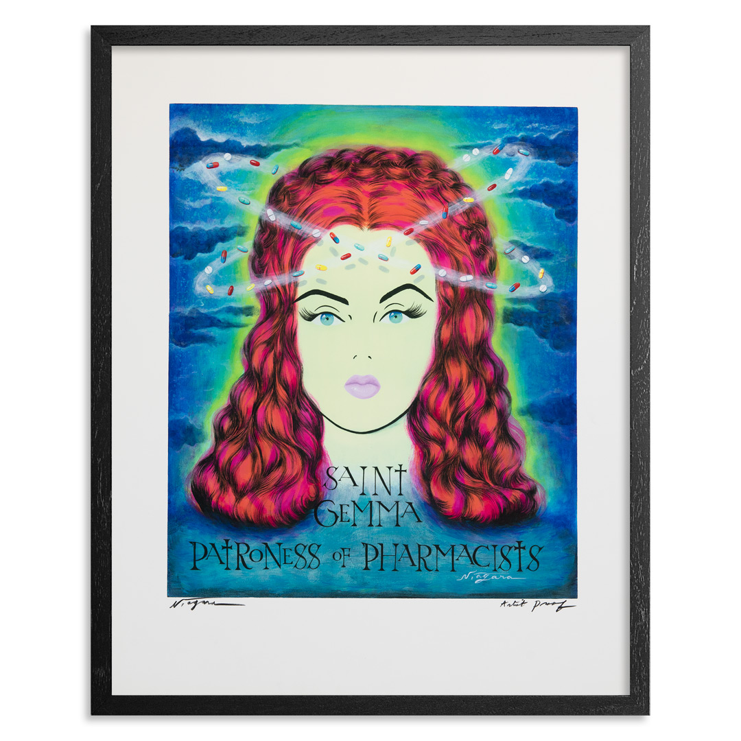Niagara Art Print - Artist Proof - Saint Gemma