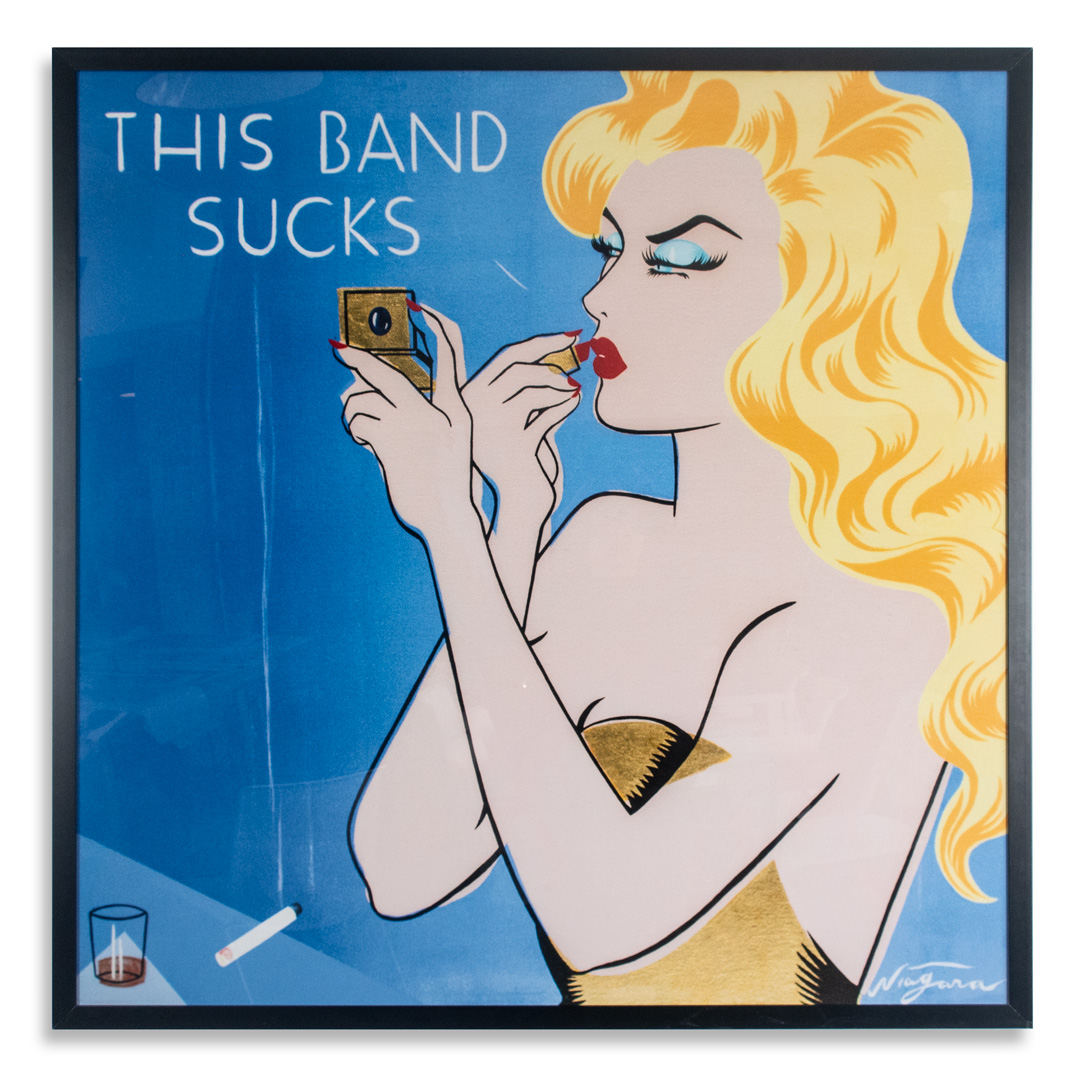 Niagara Art Print - This Band Sucks - House Of Vans Oversized Edition