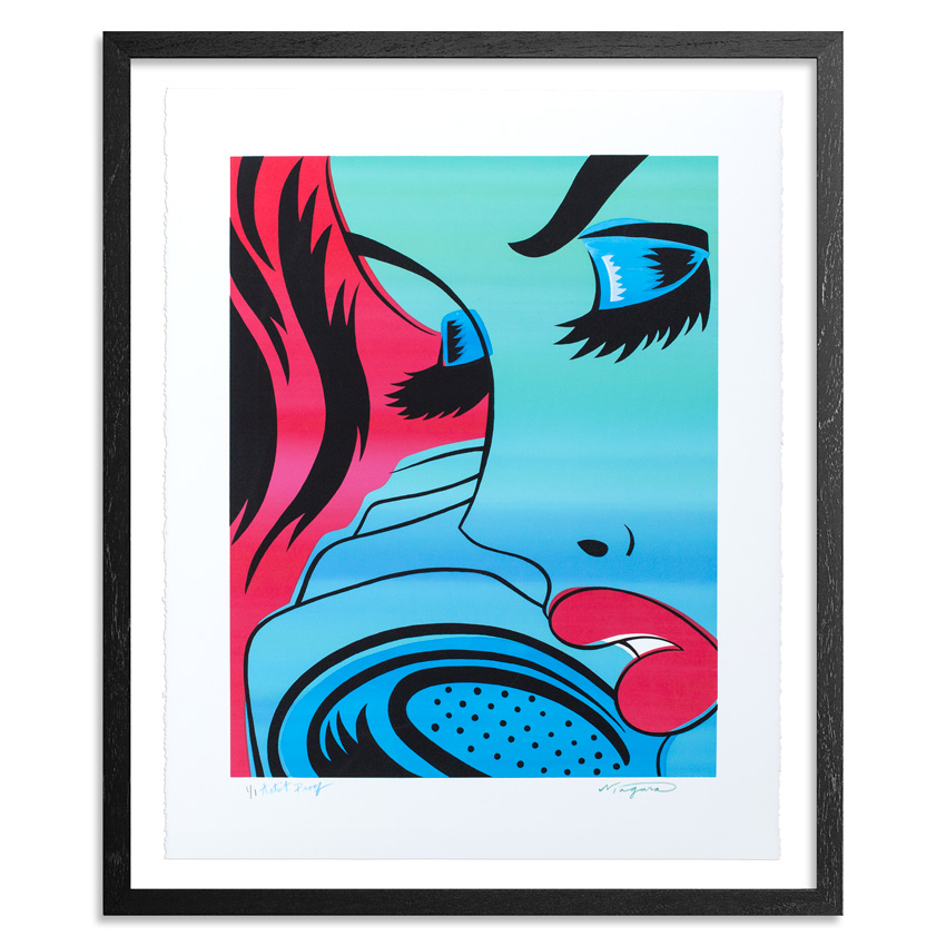 Niagara Art Print - AP #2 - Tin Teardrop - Hand-Painted Print