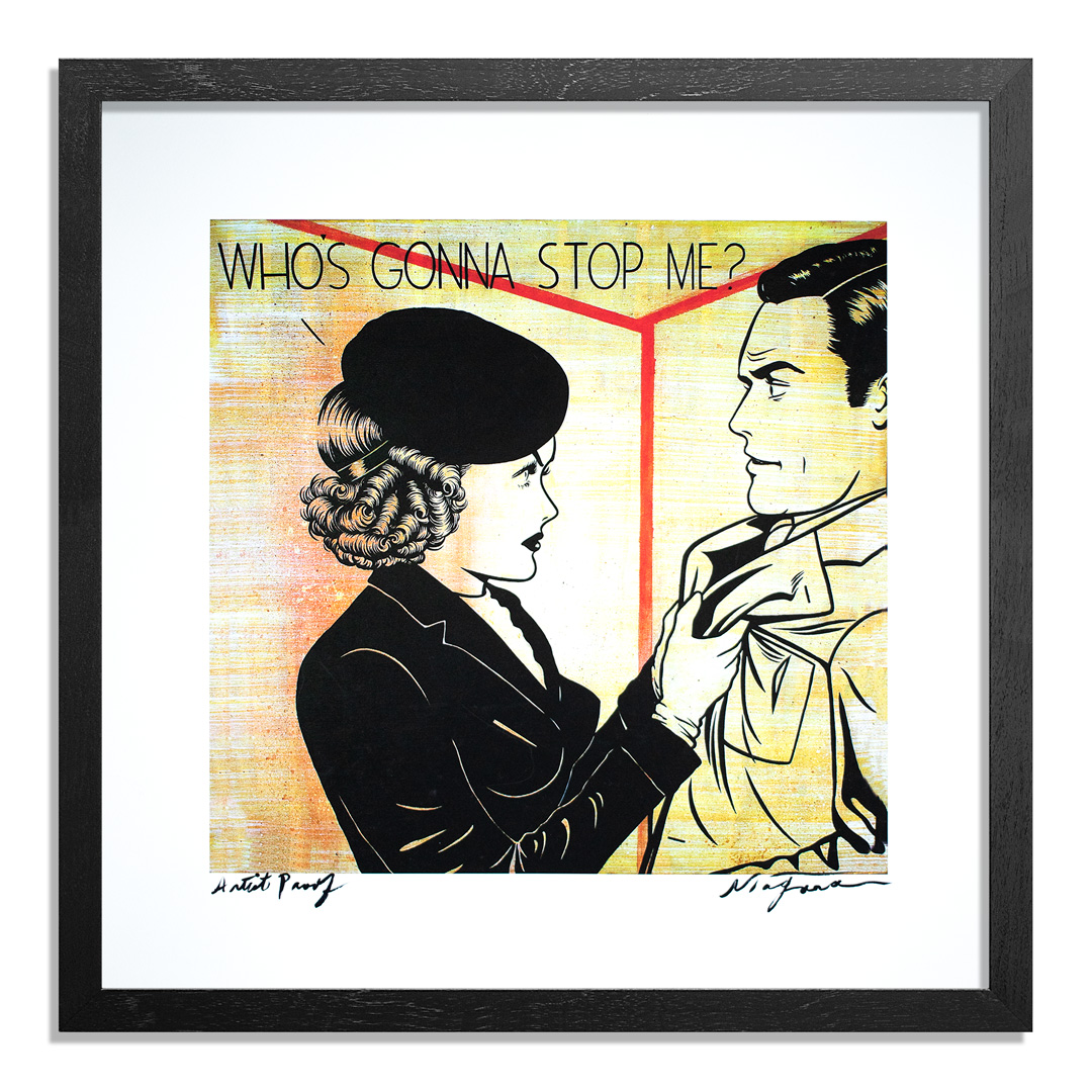 Niagara Art Print - Artist Proof - Who's Gonna Stop Me