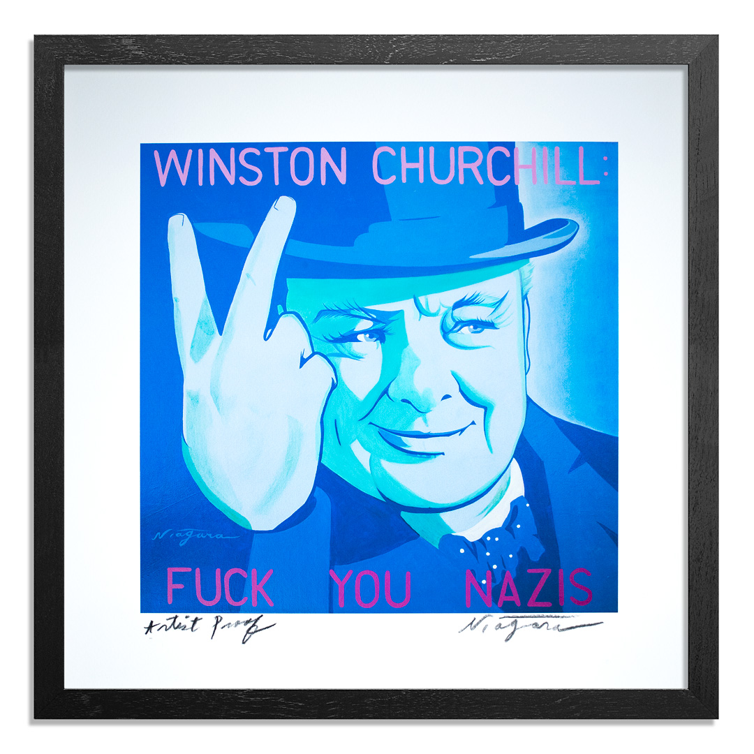 Niagara Art Print - Artist Proof - Winston Churchill