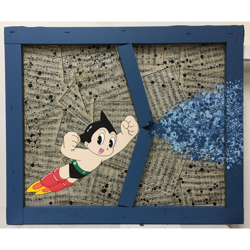 OakOak Original Art - Astro Boy Smash