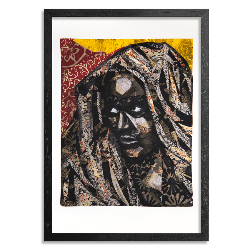 The Heliotrope Foundation Art Print - Patrick Dougher - The Madonna Of Ethiopia