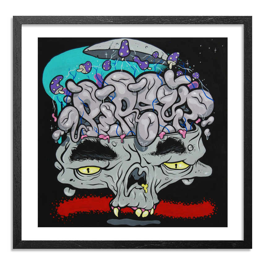 Persue Art Print - Persue Brain - Limited Edition Prints