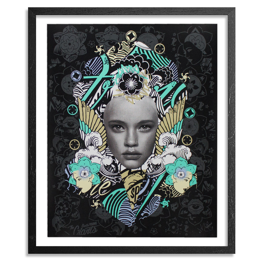 Prefab77 Art Print - Lady Of Rage - Black Variant