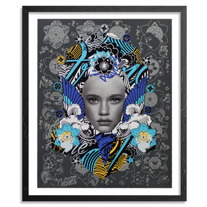 Prefab77 Art Print - Lady Of Rage - Grey Variant
