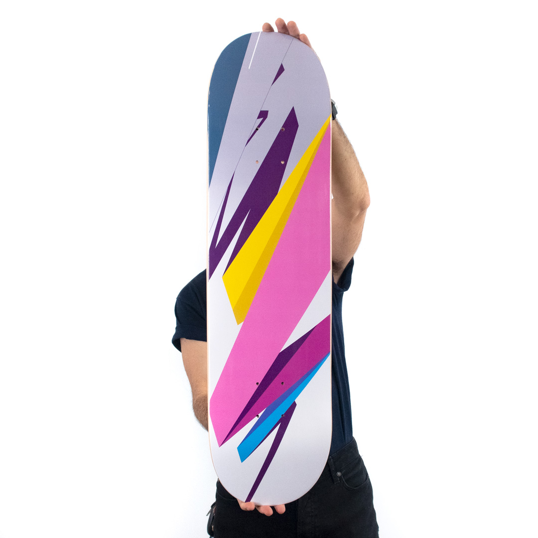 Remi Rough Art Print - Pacific Grind - Skate Deck Variant