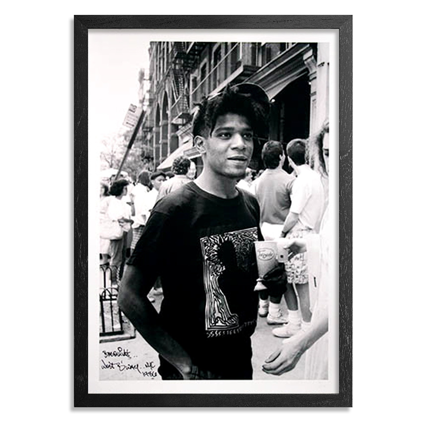 The Heliotrope Foundation Art Print - Ricky Powell - Basquiat