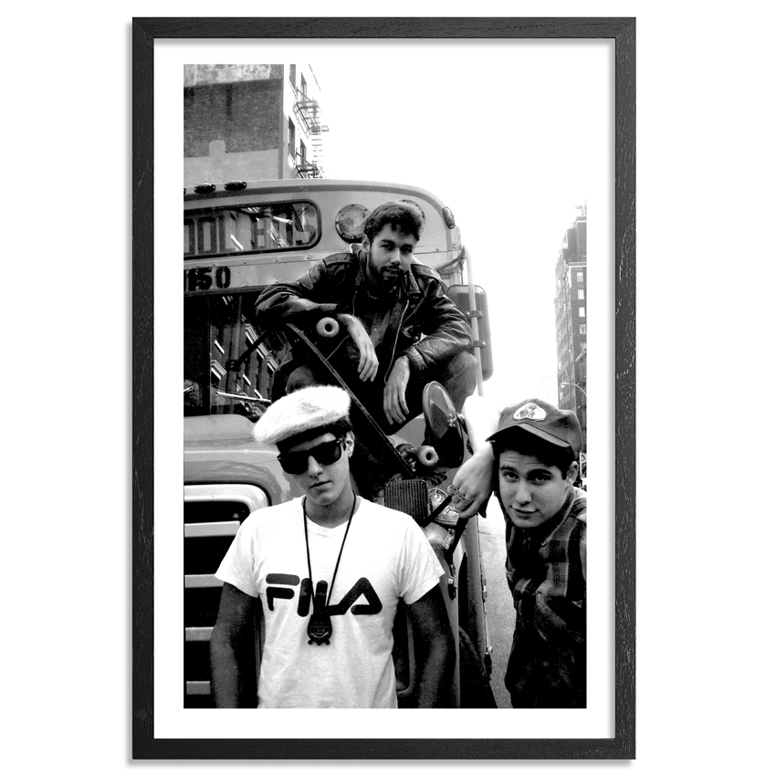Ricky Powell Art - From My 1st Official Beastie Boys Shoot May 1986 - Framed