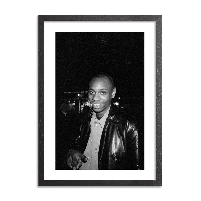 Ricky Powell Art Print - Dave Chappelle. Half Baked Premiere. NYC. 1998. - Limited Edition Print