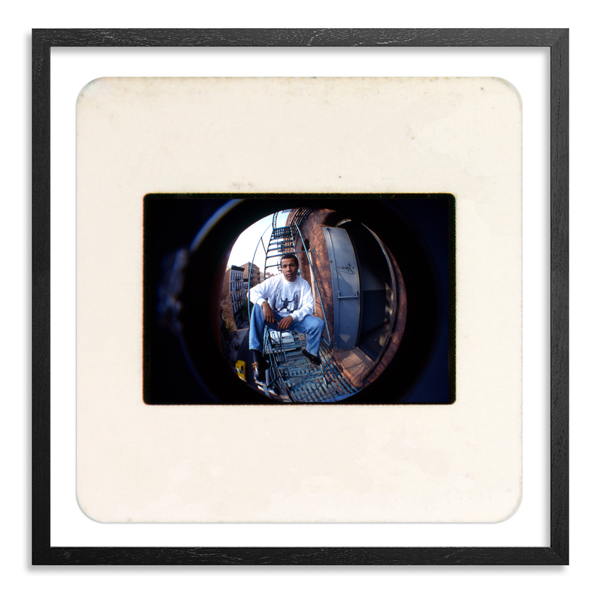 Ricky Powell Art Print - Dondi NYC 1993 Mini Slide