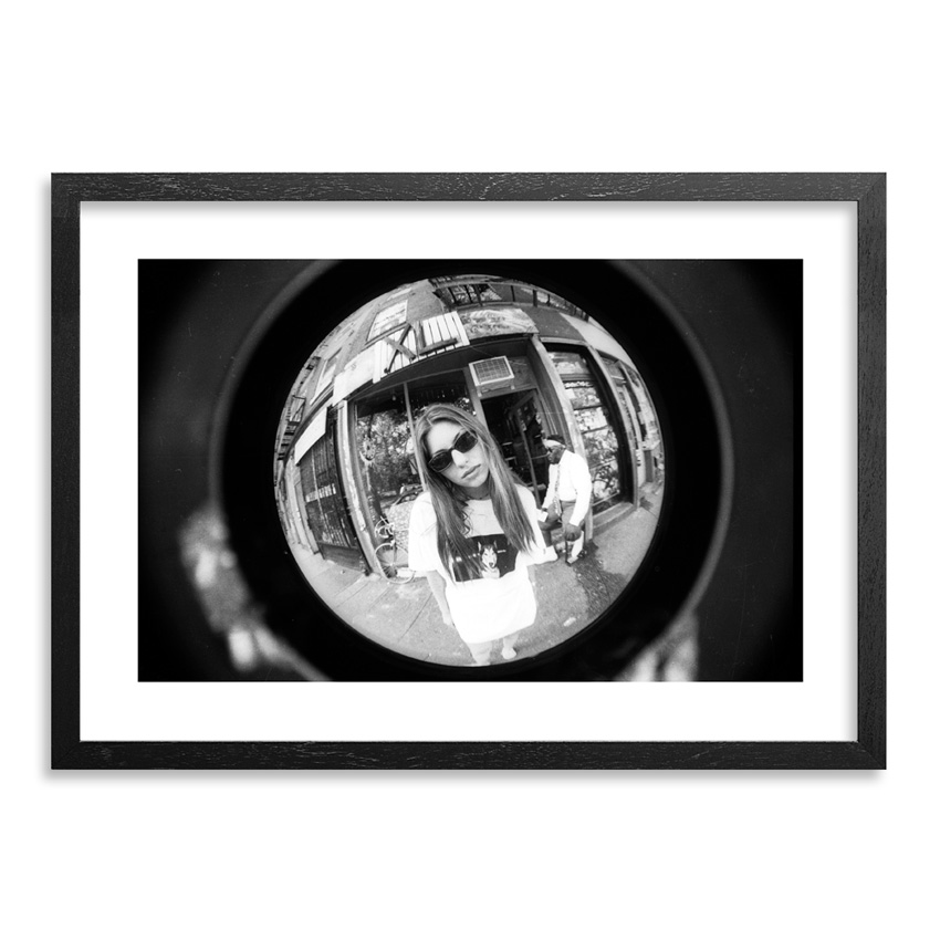 Ricky Powell Art Print - Sofia Coppola - Centrifugal Champipple Bubble Edition