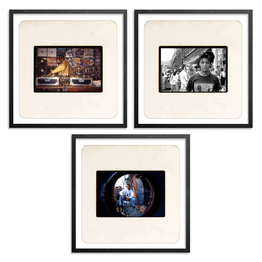 Ricky Powell Art Print - 3-Print Set - Mini Slide Set #1