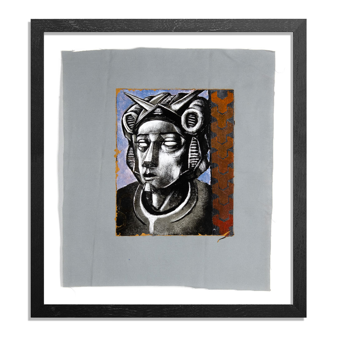 Ron Zakrin Original Art - Portrait of an Android - II