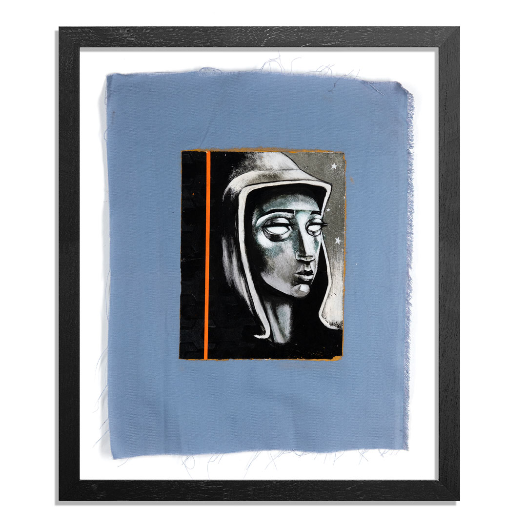 Ron Zakrin Original Art - Portrait of an Android - III