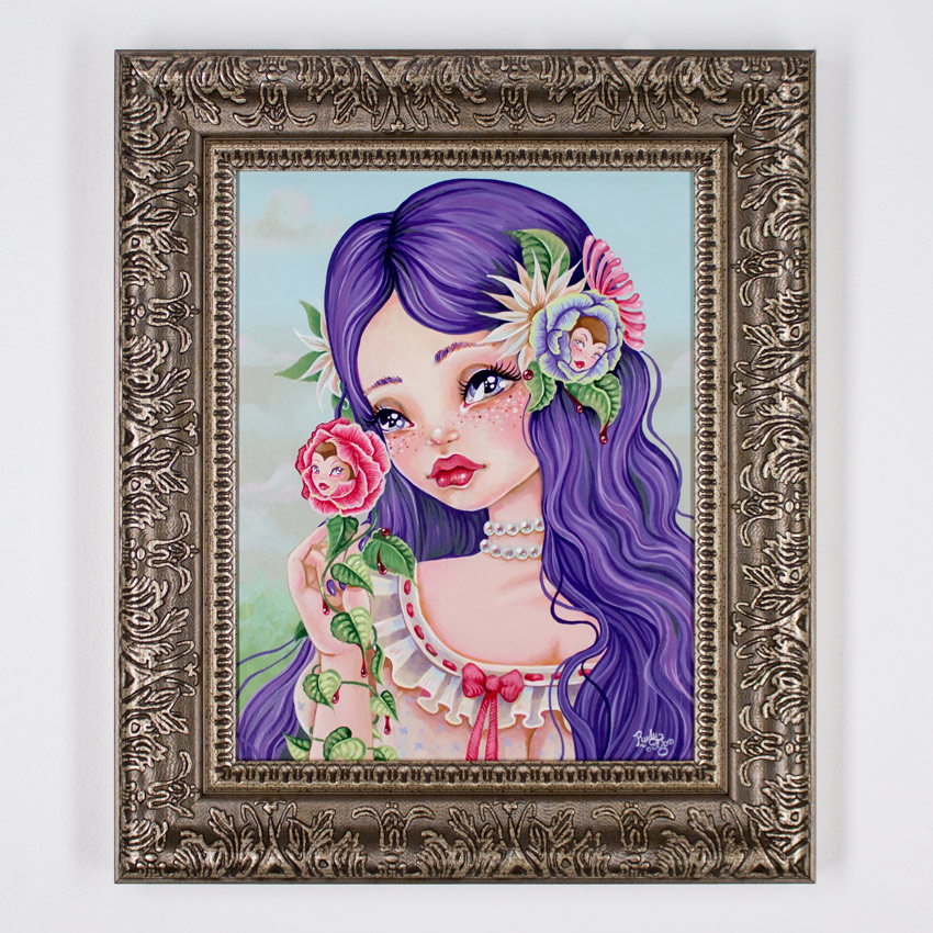 Rudy Fig Original Art - Mary Mary Quite Contrary