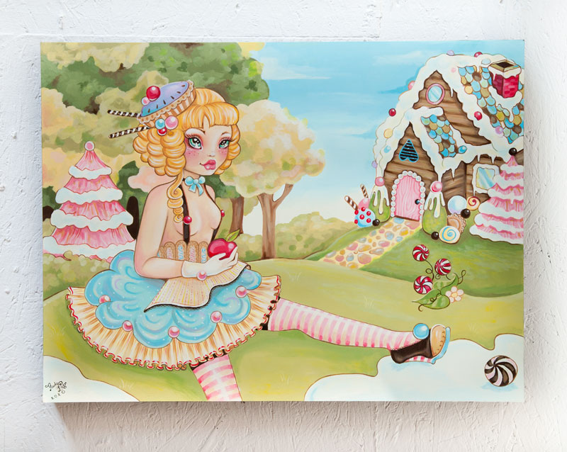 Rudy Fig Original Art - Gretel Grimm