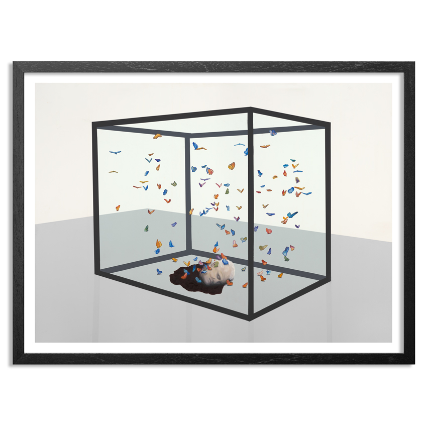 Ryan McCann Art Print - Death To Damien Hirst