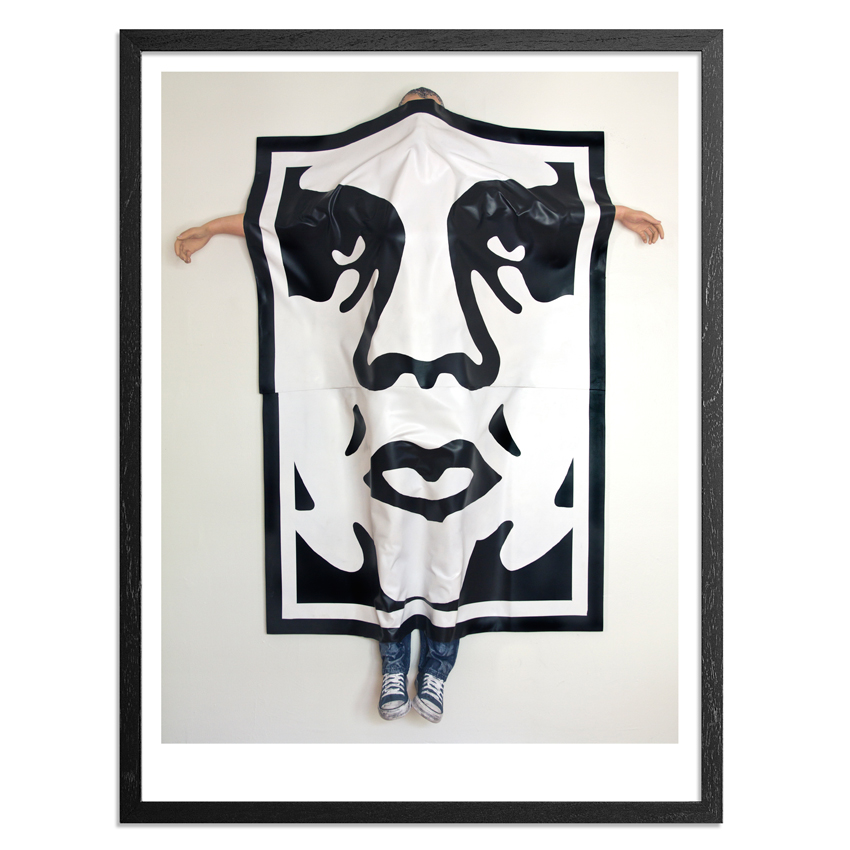 Ryan McCann Art - Death To Shepard Fairey - Framed