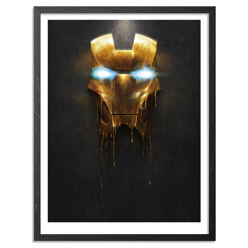 Sam Spratt Art Print - Gilded I - 18 x 24 Edition