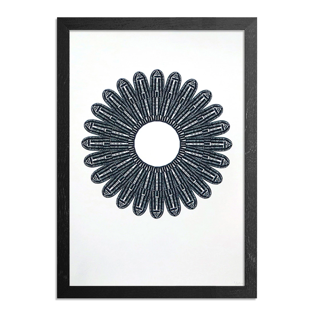 The Heliotrope Foundation Art Print - Sanford Biggers - Lotus