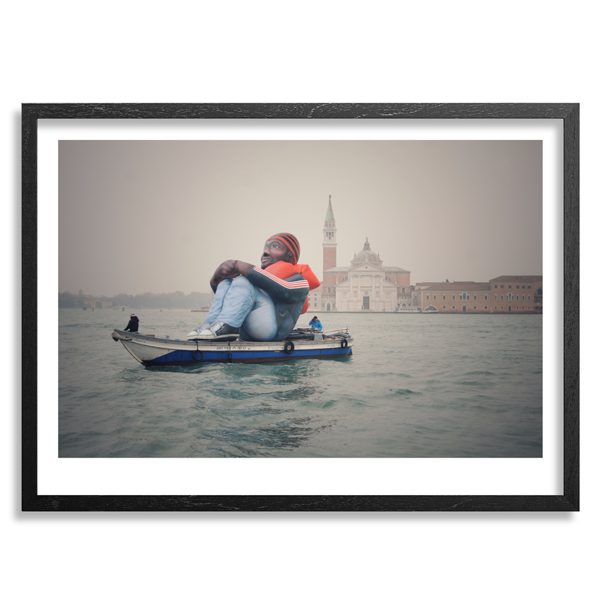 Schellekens & Peleman Art Print - Inflatable Refugee