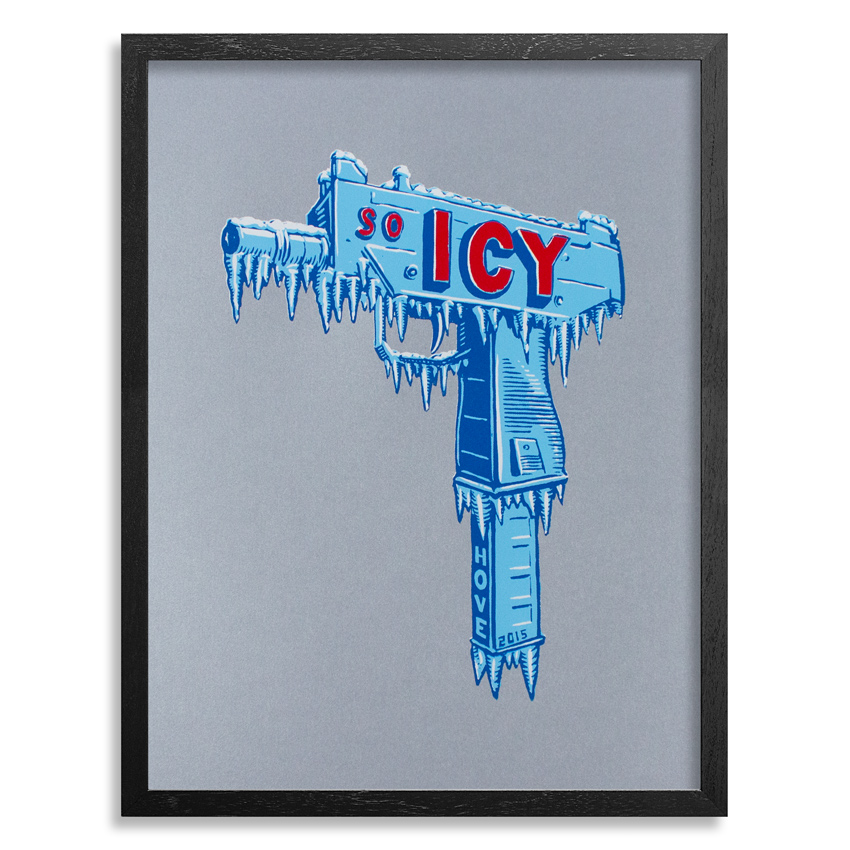 Scott Hove Art Print - So Icy - Metallic Edition