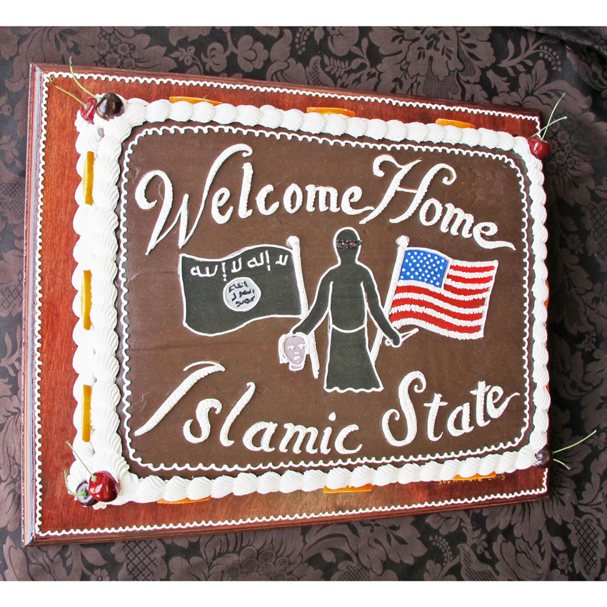Scott Hove Original Art - Welcome Home Islamic State