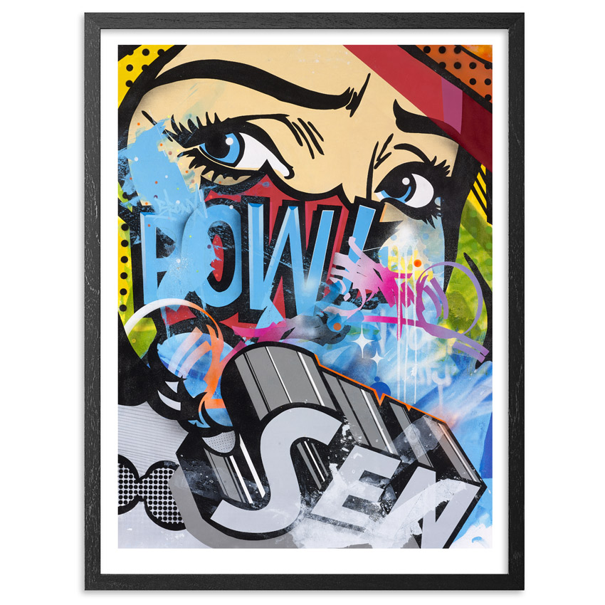 Sen2 Art Print - Traditional Pop - Limited Edition Prints