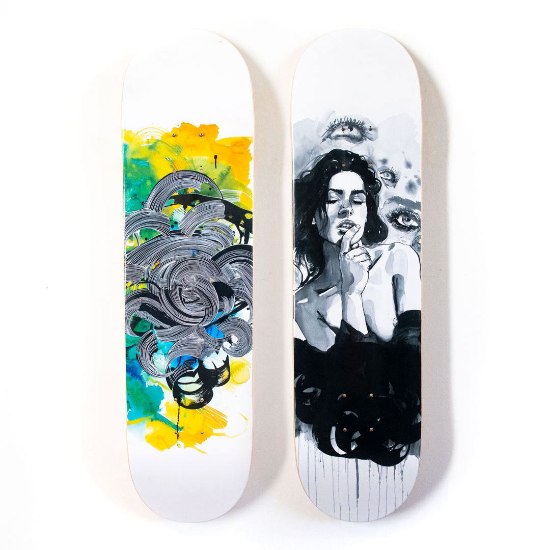 Brandon Boyd Art Print - 2-Deck Set - Brandon Boyd
