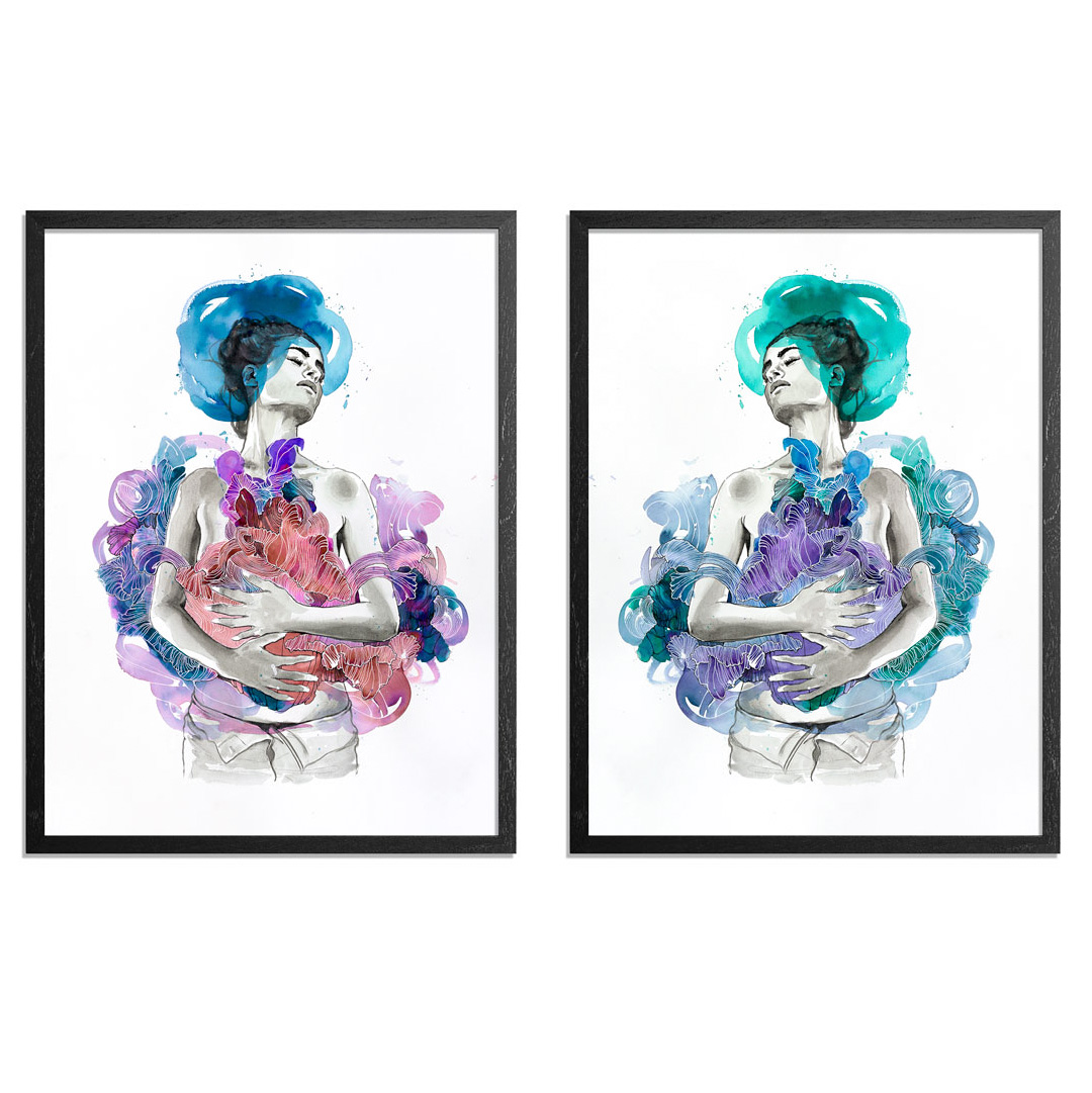 Brandon Boyd Art Print - 2-Print Set - Intuition