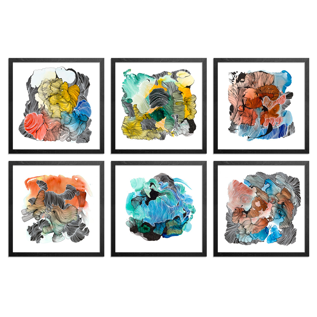Brandon Boyd Art Print - 6-Print Set - Remnants