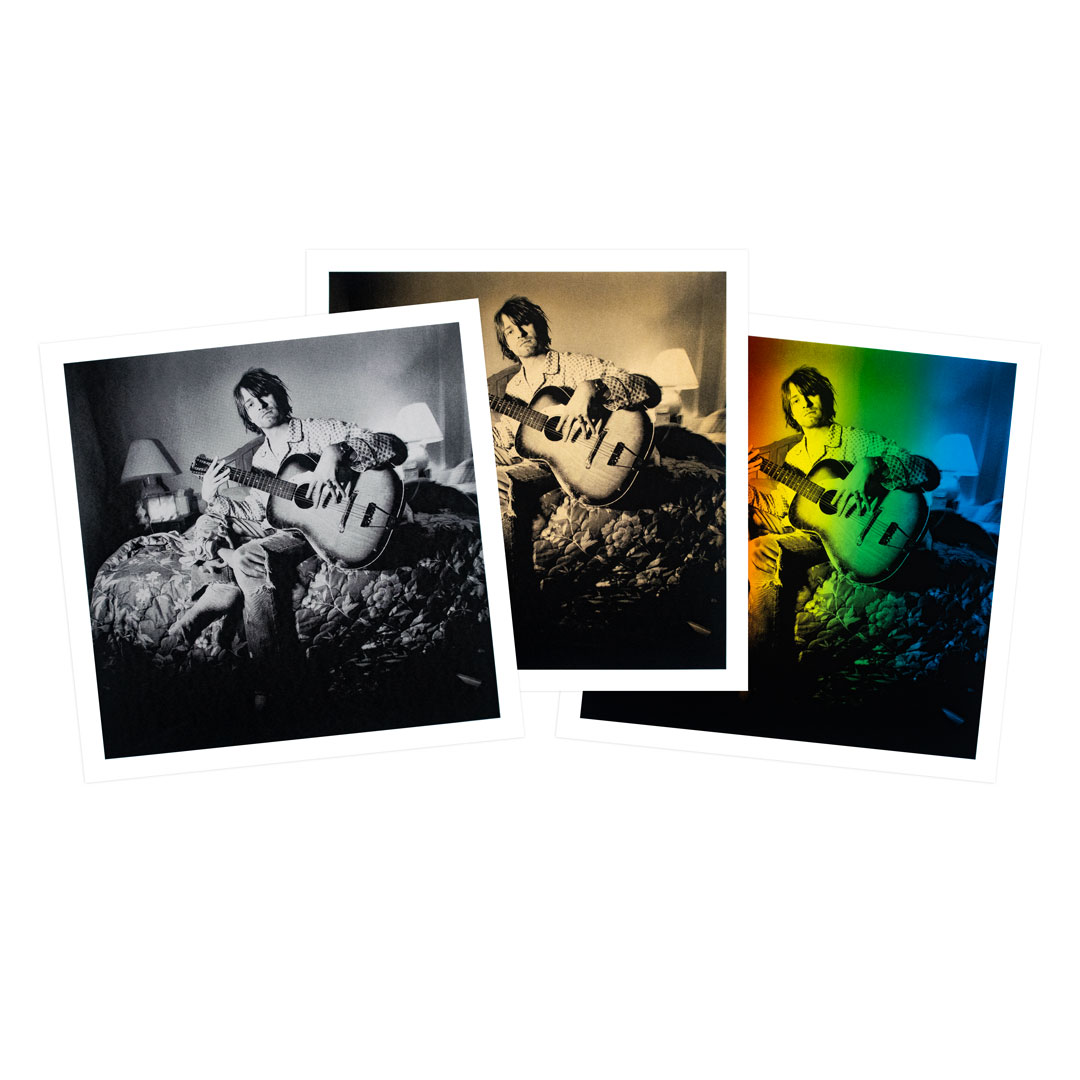 Charles Peterson Art Print - 3-Print Set - The Advocate - Silver + Gold + Rainbow Edition