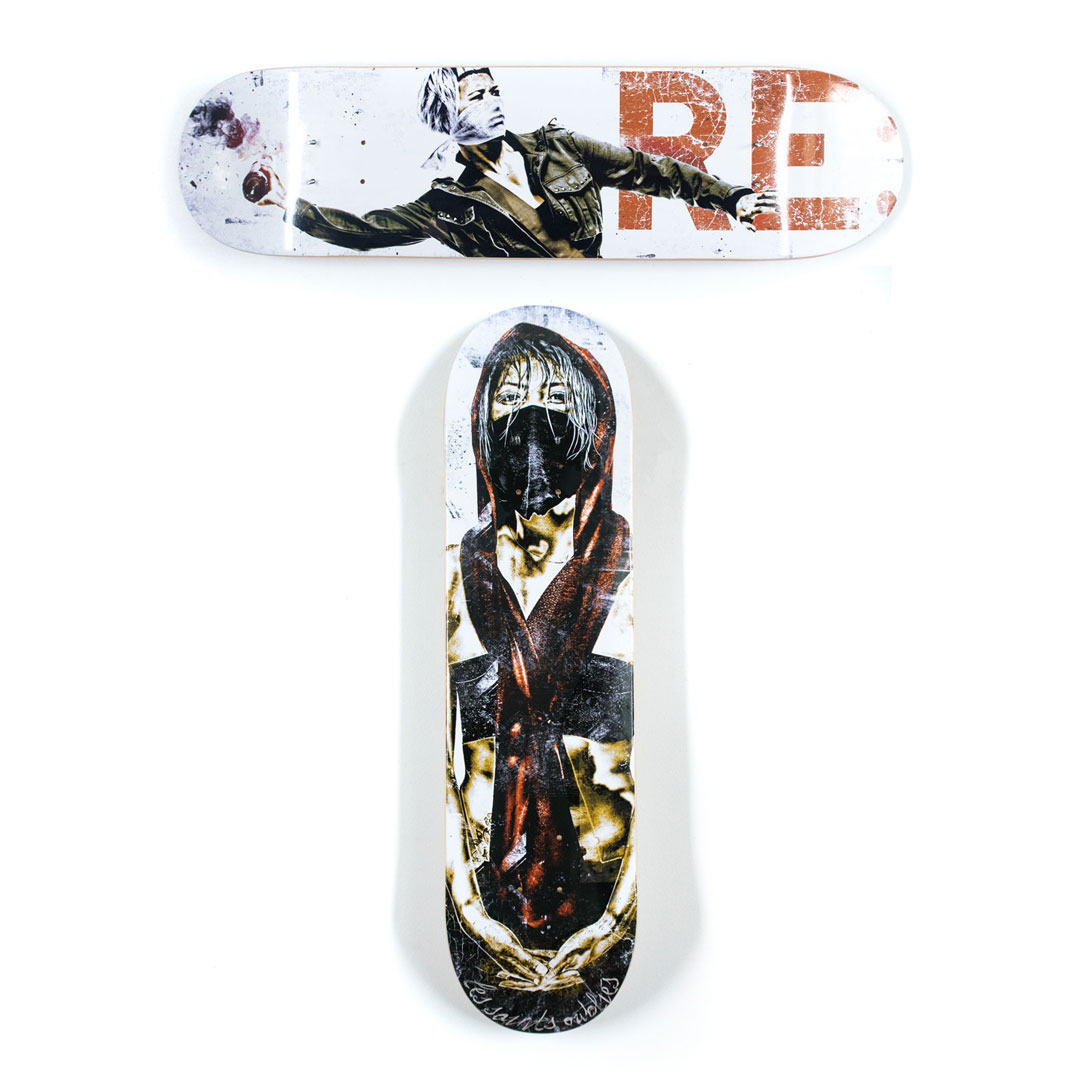 Eddie Colla Art Print - 2-Deck Set - Eddie Colla