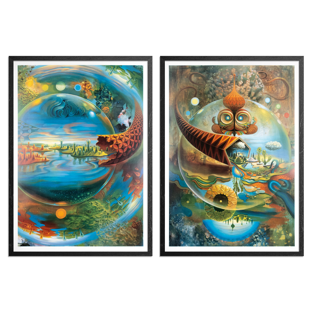 Mars 1 Art Print - 2-Print Set - Fuzzy Logic + Unlock