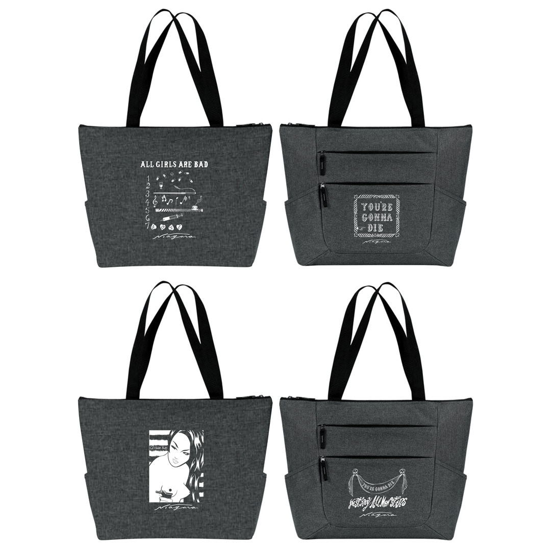 Niagara Clothing - 2-Tote Set - Booze and Barbiturates - Variant I and II