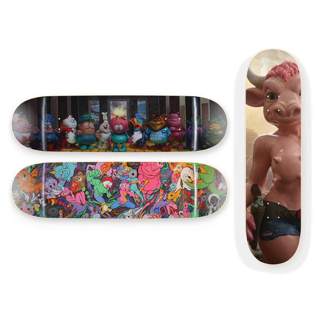 Ron English Art Print - 3-Deck Set - Ron English