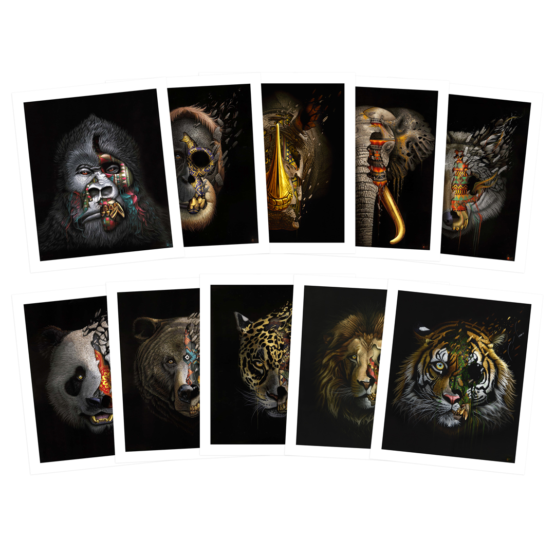 Sonny Art Print - Complete 10-Print Set - To The Bone