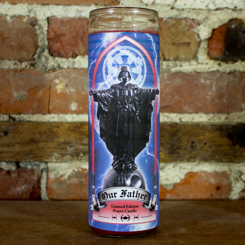 Sket One Art - Our Father Prayer Candle - Red Wax