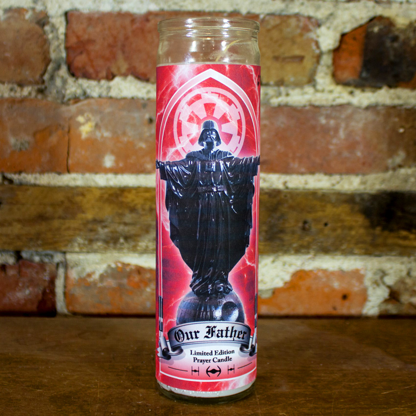 Sket One Art - Our Father Prayer Candle - White Wax