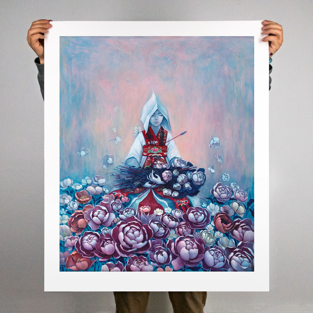 Stella Im Hultberg Art - The Rite Of Spring - Hand-Embellished Oversized Edition