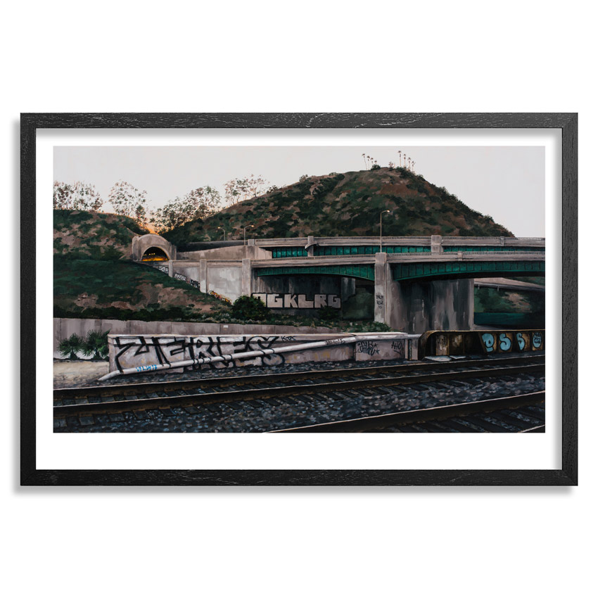 Stephanie Buer Art Print - Sunset On The 5 And The 110 - Limited Edition Prints