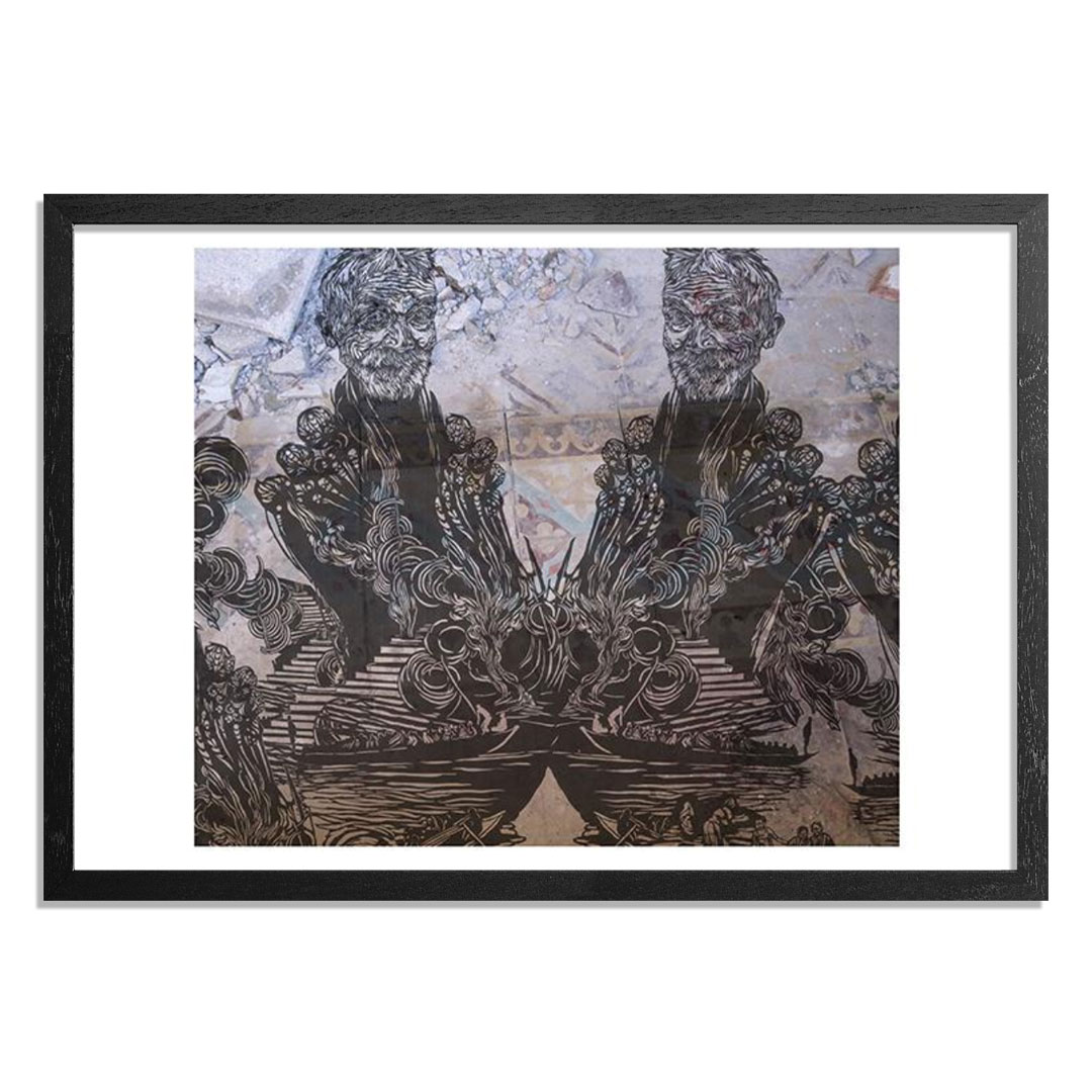 The Heliotrope Foundation Art Print - Swoon - Varanasi