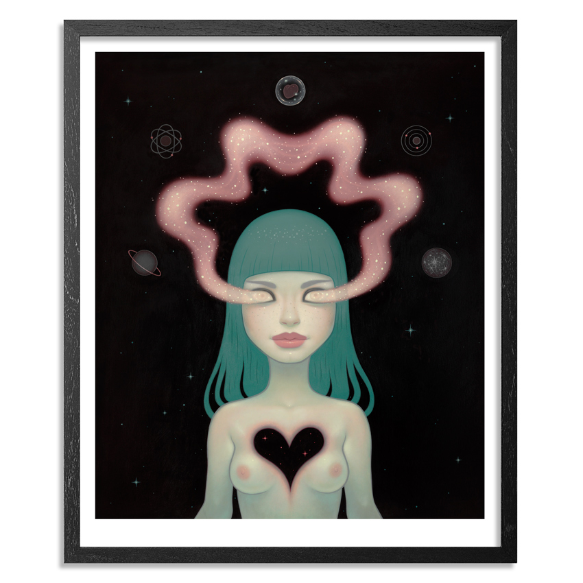 Tara McPherson Art Print - Quantum Dancer - 15 x 18 Edition