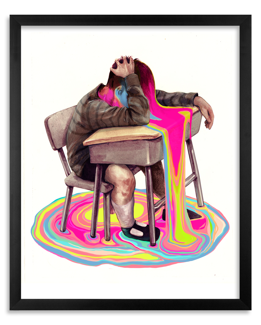 Taylor White Art Print - Homeroom - Limited Edition Prints