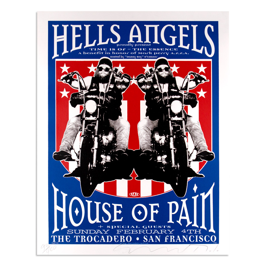 Jim Evans / Taz Art - Hells Angels - House of Pain