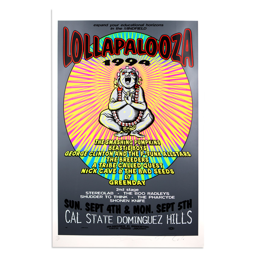 Jim Evans / Taz Art - Lollapalooza - September 4th & 5th, 1994