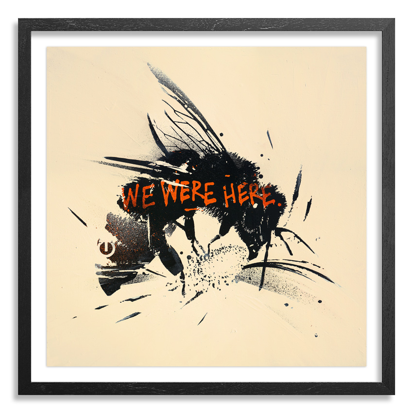 Tes One Art Print - Bee Aware - Standard Edition