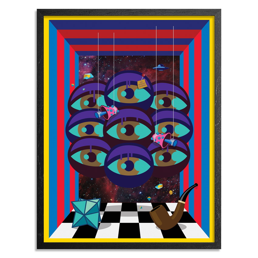 The Art Of Chase Art Print - Keep It Surreal