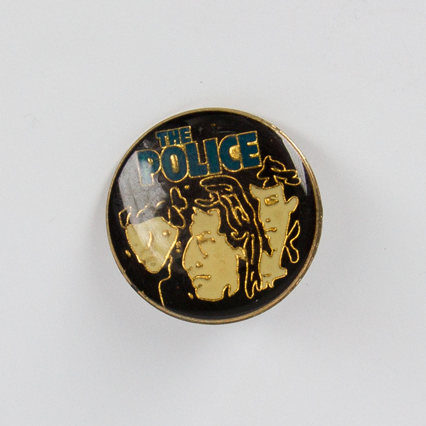 The Police Art - The Police - Enamel Pin